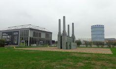 Modello della centrale usato per la cerimonia di chiusura delle London Olimpic Game