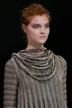 Inspiration from Giorgio Armani Spring 2015 Ready-to-Wear - Details - Gallery - Style.com
