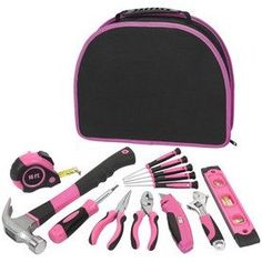 Her tools and only she can use them. I like pink