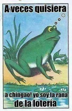 Jajaja, la Rana de la Lotería Mexicana