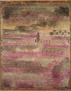 Paul Klee 'Young Garden(Rhythms)' 1927