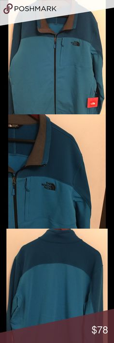 NEW The North Face Men's Cinder Jacket Brand new with tag, Men's Cinder Jacket in XXL in QuilBlue  color.  Price is firm. No free shipping. The North Face Jackets & Coats