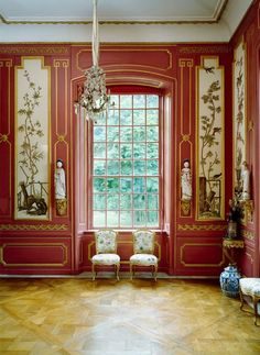 the Chinoiserie Pavilion at Drottningholm Palace in Sweden