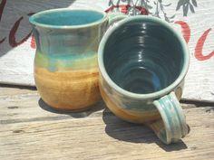 Handmade Mug Pottery Coffee Mug by ClayRoadStudios on Etsy, $14.00