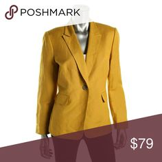 Tahari ASL Blazer Tahari ASL mustard color blazer Brand New purchased At Nordstrom's the color is versatile can wear with a skinny jean or simply with some casual slacks Tahari Jackets & Coats Blazers