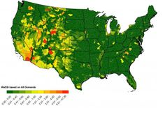 Nearly One In 10 U.S. Watersheds Is 'Stressed'; Demand For Water Outpacing Supply: CIRES Study