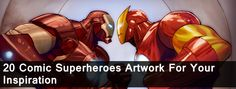 20 Comic Superheroes Artwork for your Inspiration | Downgraf.
