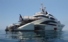 285' Ace yacht built in 2012 by lurssen is a charter $1,367,802 per week plus expenses.