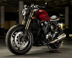 OVERBOLD MOTOR CO. — This is our latest, a Yamaha XJR1300. We named...