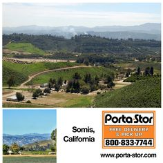 Do you need to Rent Storage Containers in Somis, California? Call Porta Stor at to Rent Storage Containers in Somis. Storage For Rent, Ventura County, Storage Containers, The Unit, California, River, Mountains, Places, Storage Units