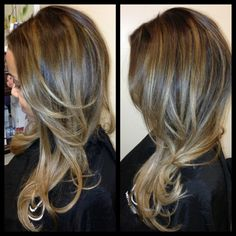 Jessie with ash blond balayage highlights | Yelp
