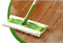 Swiffer!!!  I love almost ALL of the Swiffer products.  Time savers!