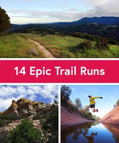 14 Trail Running Adventures to Try Before You Die #running #trailrunning
