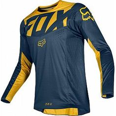 FOX 360 Kila Motocross Jersey Blue Yellow 2XL Motocross Outfits, Motocross Shirts, Motocross Racing, Mx Racing, Sport Wear, Bmx, Blue Yellow, Fitness Fashion, Jersey Designs