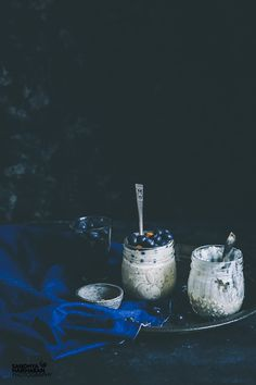 Blueberry Chia Overnight Oats