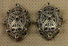 Cast Oval or Turtle Viking Brooches - Viking Bling