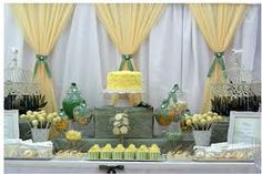 40 Best Green Yellow Baby Shower Images Dessert Table Candy