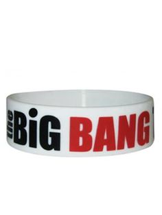 If you're a fan of The Big Bang Theory, then you'll love this wristband featuring the popular shows title! #TheBigBangTheory