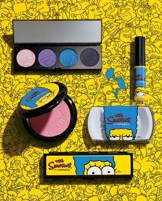 Chega de espera: os itens da linha da M.A.C com Marge Simpson