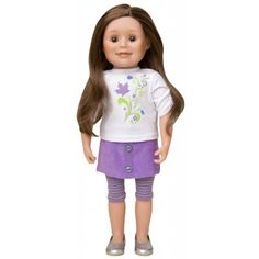 Maplelea Friend with long layered light brown hair, light skin and blue/grey eyes Canadian Girl Dolls, Canadian Girls, Light Brown Hair, Light Hair, Gray Eyes, Brown Eyes, Medium Long, Blue Grey, Long Layered