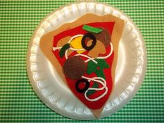 P is for PIZZA for TWO on Etsy, $4.00 Or make out of construction paper..make pizza for cooking day
