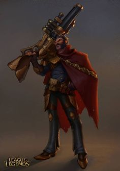 League of legends, Graves