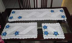 trilho de mesa contendo 3 peças
