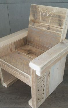 Steigerhouten kindermeubels | geboorteXpress - kraamkado met naam