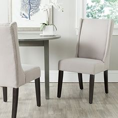 Safavieh Mercer Collection Sher Side Chair, Taupe, Set of... https://www.amazon.com/dp/B00JIIVEO6/ref=cm_sw_r_pi_dp_x_MweUybN65A6PM