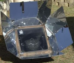 I would love to learn to use one of these. Solar oven