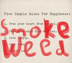 Because it's the quickest way to happiness.