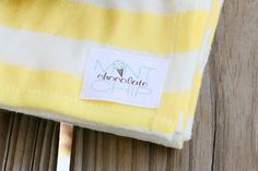 Good Morning Sunshine Cotton Knit Swaddle by Mint Chocolate Chip Co
