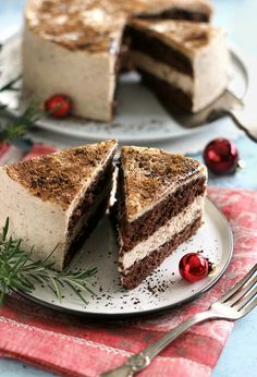 Hungarian Cake, Hungarian Recipes, Fudge, Tiramisu, Tart, Food And Drink, Strawberry, Xmas, Sweets