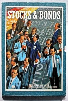 Stocks and Bonds Stock Market Game by 3M Company 1964