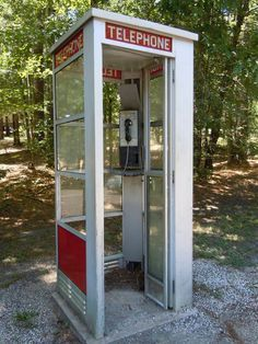 You can clearly see the spider webs in every corner of this telephone booth and dust just slowly falling off. It is very rare to see someone using one of these, plus you're saving 25 cents... Everything is in your pocket and a click a way.