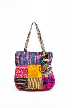 Stylocus Jhola Bag   Traditional  Bag  Velvet/Brocade/Gaji Silk/ Rabari Work
