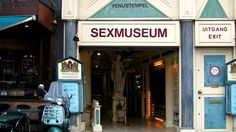 Located in the centre of Amsterdam, the Venustempel (temple of Venus) is the world's first and oldest sex museum #iamsterdam Photo: CC BY 2.0 Jessica Curtin via Flickr