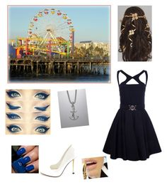 """New world"" by clara0407 ❤ liked on Polyvore featuring David Yurman, Versace, Charlotte Russe and Butter London"