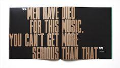 Jazz FM Booklet Matt Willey — Designspiration