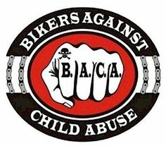 Bikers Against Child Abuse, Inc. is a tax exempt 501 (C) (3) corporation. B.A.C.A.®, Bikers Against Child Abuse®, the Fist Logo and Breaking the Chains Logo are registered trademarks of Bikers Against Child Abuse, Inc. Copyright © 1996 - 2013 Bikers Against Child Abuse, Inc. - All Rights Reserved Please research all fund raising conducted under the name of Bikers Against Child Abuse, Inc. (B.A.C.A.®). All merchandise is offered in exchange for a cash donation.