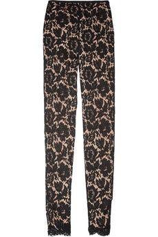 Stella McCartney lace leggings style pants