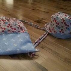 Beutel und Kindersonnenhut Designed by Tilli