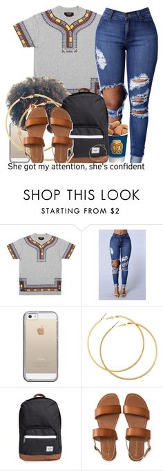 """Invitation"" by jjaysuave ❤ liked on Polyvore featuring 10.Deep, Casetify, H&M, Herschel Supply Co., Aéropostale and BERRICLE"