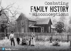 If you don't think that you like family history, this is a great article to read! Combating family history misconceptions.