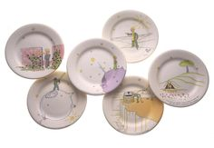 the Little Prince dessert plates - amazing! Sadly, they've been discontinued, so I'll move them off my wish list and just look at them from time to time.