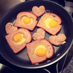 Valentine's Day eggs