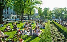 Park Esplanade #Helsinki #ScanAdventures