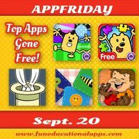 AppFriday and time for some great app deals! Our top 5 apps gone free today are 2 apps from the Wubby's Series by Cupcake Digital - Wubbzy'...