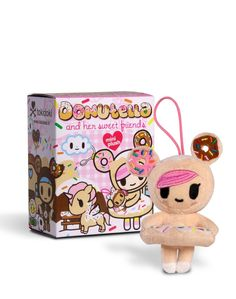 Donutella and Her Sweet Friends Mini Plush Collectables $10 #tokidoki #donutella