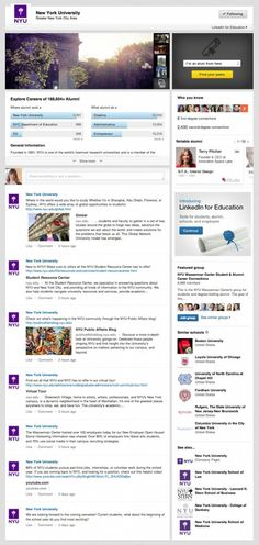 LinkedIn adding university pages - important for #contentmarketing